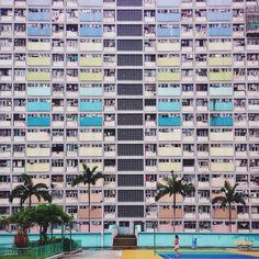 Straight Facade - Hong Kong - Wei Wei
