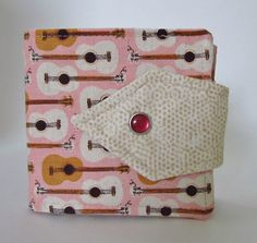 Tomboy Billfold Wallet Handmade Music in the Park by BCharmer, $32.00