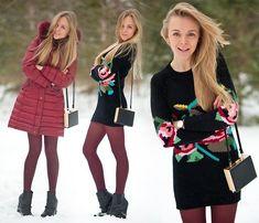 FLOWER ORNAMENT IS PERFECT FOR THE WINTER (by Darya Kamalova) http://lookbook.nu/look/4532865-FLOWER-ORNAMENT-IS-PERFECT-FOR-THE-WINTER