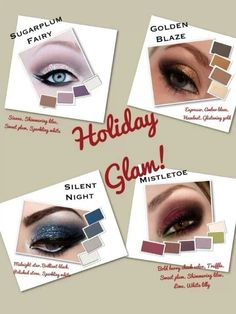 Holiday Glam with Mary Kay Mineral Eye Colors