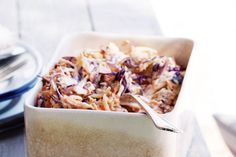 Double cabbage coleslaw