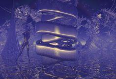"Bryce, Series ""Otherworld"", 1999/2000 Digital Art, Abstract, Artwork, Work Of Art, Summary"