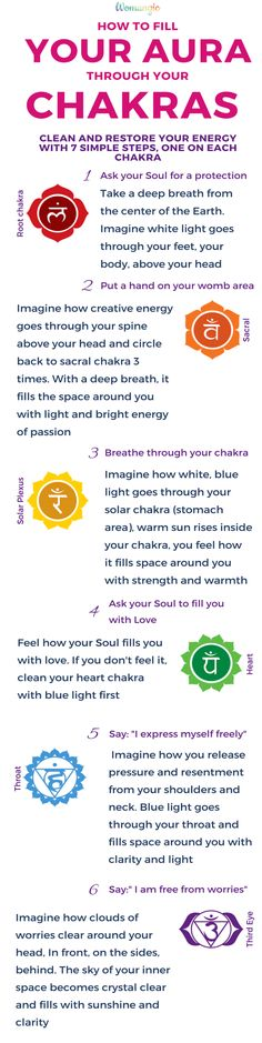 How to fill your aura through chakras. Chakra, Chakra Balancing, Root, Sacral, Solar Plexus, Heart, Throat, Third Eye, Crown, Chakra meaning, Chakra affirmation, Chakra Mantra, Chakra Energy, Energy, Chakra articles, Chakra Healing, Chakra Cleanse, Chakra Illustration, Chakra Base, Chakra Images, Chakra Signification, Anxiety, Anxiety Relief, Anxiety Help, Anxiety Social, Anxiety Overcoming, Anxiety Attack.