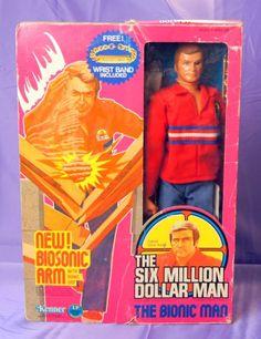 1976 Kenner Six Million Dollar man 3rd Edition MIB