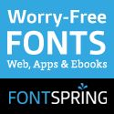 """Worry-Free Fonts only at Fontspring.com - """"Free fonts have met their match. We know how hard it is to find quality freeware that is licensed for commercial work. We've done the hard work, hand-selecting these typefaces and presenting them in an easy-to-use format."""""""