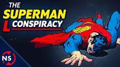 "The Superman ""L"" Conspiracy. Fan Theories, Conspiracy Theories, Lana Lang, Superman Comic, Lex Luthor, Help Teaching, Popular Videos, Nerd Geek, Amazing Adventures"