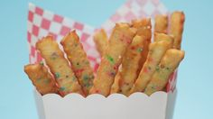 Hacking Cookie Fries, the Most Memorable Fried Food From the State Fair: Cookie fries are the ultimate mashup of two of the best junk foods, and we've figured out a way to make them at home.