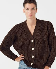 Eddie Bauer Gray Jumper Dress Size Medium Petite Cozy Cotton Knit Vintage at Quilted Nest