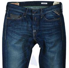NEW mens REPLAY Waitom Jeans  W-30 L-34 Slim regular