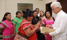 Coordinadora General de Mujeres Ngäbe Buglé y Campesinas (COORGEMUNBC) dirigida por Margarita Guerra