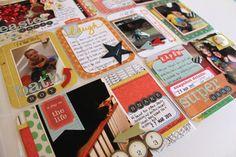 Life. Paper. Scrapbook. : Bernii's Project Life Process