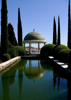 Malaga botanical gardens