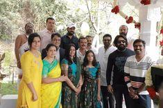 Prashanth Neel's Salaar Movie Muhurtha Fix Guest Yash - Vodapav Worship, Cinema, Sari, Film, Couple Photos, Gallery, Movies, Fashion, Saree