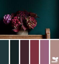 61 New Ideas apartment color schemes design seeds Apartment Color Schemes, Bedroom Color Schemes, Bedroom Colors, Colour Schemes, Interior Design Color Schemes, Colors For Bedrooms, Jewel Tone Bedroom, Interior Colors, Paint Schemes