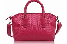 FASHION ONLY Stylish Womens Ladies Celebrity Fashion Snake Skin Effect Fashion Handbag (TI0049) (Pink) Size: 13.2 Wide x 9.6 High This bag comes with long strap. Zippered and open inside pockets for accessories. Fully Lined Dual Handle Free Dust Bag (Barcode EAN = 0765857846910). http://www.comparestoreprices.co.uk/celebrity-fashion/fashion-only-stylish-womens-ladies-celebrity-fashion-snake-skin-effect-fashion-handbag-ti0049--pink-.asp