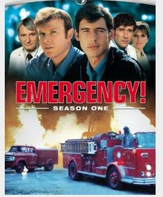 Emergency TV Show - such drama.  I watched a couple episodes with my 12 year old son - (on Netflix) - WoW is all I have to say - (I married a Firefighter - probably had a long lost crush for them)  Good Guys.