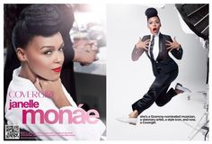 Yes! Janelle Monae is the new face of CoverGirl