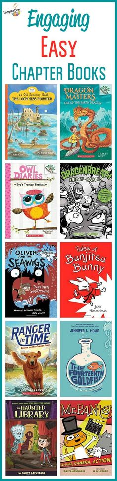 Introducing ten new beginning chapter books for your beginning readers with fun, adventure, hilarity, and curiosity . . . perfect for your kids needing a good book to read and adore.