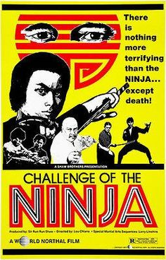Challenge of the Ninja - 1980 - Movie Poster