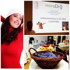 #miraDry Press Conference