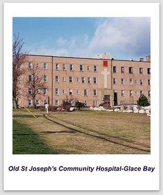 Glace Bay, St Joseph's Hospital, Community Hospital, Cape Breton, Nova Scotia, Old Pictures, East Coast, Memories, Island
