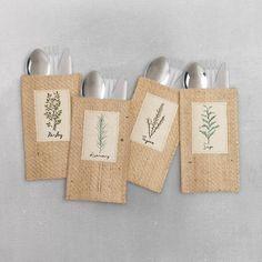assorted herbs | set of 8