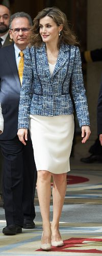 """8 Jul 2016 - Queen of Spain delivers """"Queen Letizia Awards 2015"""" of the Royal Board on Disability. Click to read more"""