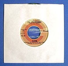 "100 White Polylined 7"" 45rpm/45 rpm/Single Sleeves Vinyl Record inner Poly-lined #Papermill"