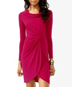 I wish they have red....but this looks cute as a pink dress