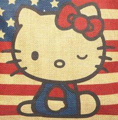 Classic Hello Kitty Americana: take a peek! Hello Kitty Art, Hello Kitty Purse, Hello Hello, Wallpaper Iphone Cute, Cute Wallpapers, Hello Kitty Accessories, Kitty Images, Miss Kitty, Hello Kitty Collection