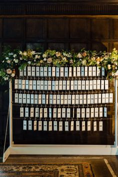 Creative literary table plan   Ann-Kathrin Koch Photography   Bridal Musings Wedding Blog