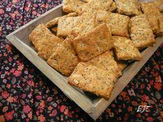 Az áfonya mámora: Sokmagos sajtos kréker