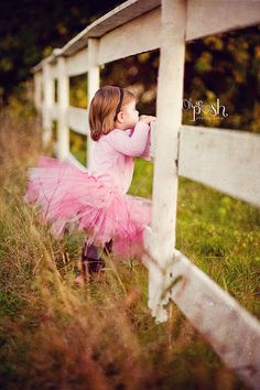 I feel like this is gonna be my little girl someday... Playing in the woods and fields with her daddy, and she is in a tutu... That image makes me so happy!!
