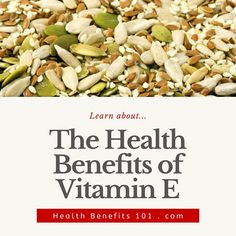Learn about the health benefits of vitamin E... Foods With Vitamin E, Benefits Of Vitamin E, Health Benefits, Green Beans, Vitamins, Healthy Recipes, Vegetables, Learning, Studying