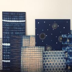 Waar komen trends als indigo, heritage fashion, patchwork, eco- en imperfect design vandaan? Japan in the picture! How To Dye Fabric, Fabric Art, Linen Fabric, Handmade Design, Handmade Crafts, Blue And White Fabric, Tie Dye Techniques, African Home Decor, World Crafts