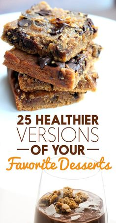 25 Healthier Versions Of Your Favorite Desserts // buzzfeed.com