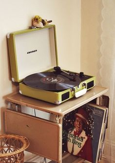 I just bought this. It's my new pride and joy. Completely obsessed. Buy me records.