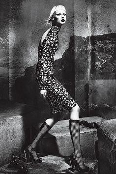 Elza Luijendijk: Versace A/W '12 Campaign Versace fall / winter 2012 ad campaign    Model: Elza Luijendijk  Photography by Mert & Marcus