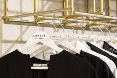 Comité Apparel - Local de indumentaria femenina.  Arquitectura e interiorismo por T+T Arquitectos