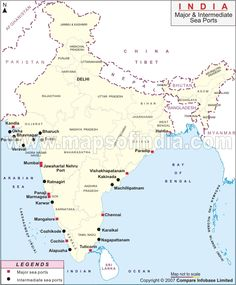 Soils in india httpaplustoppersoils india icse solutions find the list of major sea ports in india map highlights the location of intermediate and major sea ports in india thecheapjerseys Gallery