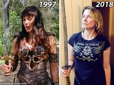 """markthexenaaddicted: """" WHEN you realize Lucy Lawless is still perfect for a Xena Revival!  WE WANT IT NOW! """""""