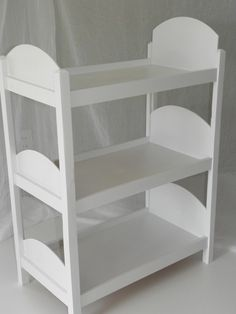 Baby bunk bed...Make from cheap/recycled book shelf?