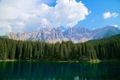 Karersee Lake - Italy by Luigi Maurizio Pecora on 500px