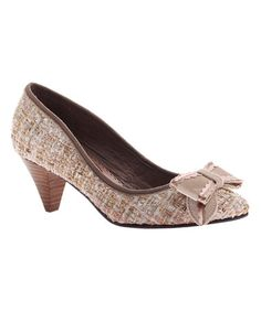 Another great find on #zulily! Taupe Day Lily Pump #zulilyfinds