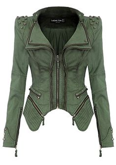 "New Trending Outerwear: Lookbookstore Sharp Studded Notched Denim Jeans Tuxedo Blazer Jacket Green US 10. Lookbookstore Sharp Studded Notched Denim Jeans Tuxedo Blazer Jacket Green US 10   Special Offer: $72.99      355 Reviews Measurements Size US 0 – US 2: Bust 32"" / Waist 28""; / Length 23""; Size US 2 – US 4: Bust 33""; / Waist 29""; / Length..."