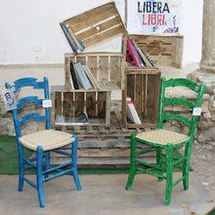 """Esposizione dentro lo spazio """"Libera libri"""" di Artemidee: Festival del Pensiero creativo. ( 1-6 agosto, Cianciana )"""