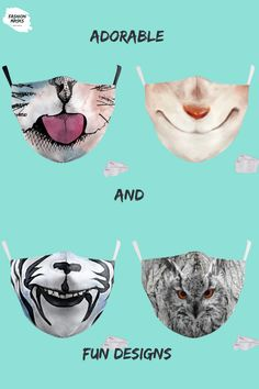 Your kids will surely fall in love with these adorable and fun masks they can choose from!   Click this link for more adorable designs for your kids!☺️👇  fashionmasks.com.au Falling In Love, Masks, Canning, Link, Conservation