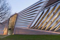 Музей искусств по проекту Захи Хадид в Мичиганском университете