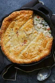 5 Recipes That Will Change the Way You Think About Casseroles via @PureWow  chicken pot pie casserole