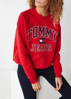 ecf1a05f0d Tommy Hilfiger 90er Pullover mit Logo-Print • der Bijenkorf - staniya geeva  -